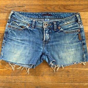90's Vintage Jean Shorts